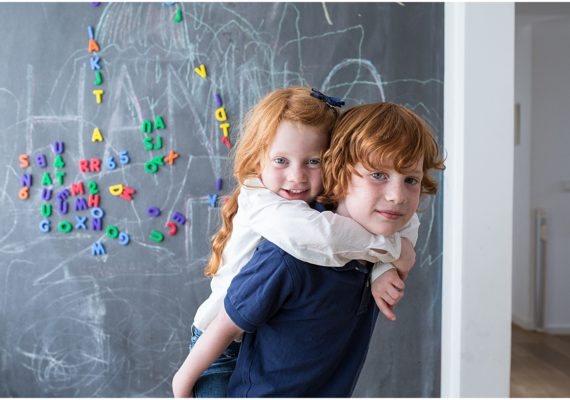 Lifestyle Homestory with Two Redheads